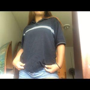 Vintage navy blue T-shirt